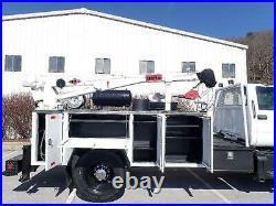 Chevrolet Kodiak C6500 Service Truck Imt 3016 Hydraulic Crane 11m920 11 Ft Bed