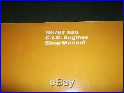 Cummins Nh Nt Nta 855 C. I. D. Ntc-475 Big Cam Engine Service Shop Repair Manual