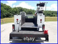 Ford F750 Xlt Service Truck Pto Driven Hydraulic 1006h Auto Crane And Compressor
