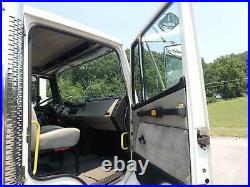Freightliner Fl70 Service Truck Pto Driven Hydraulic Crane And Compressor