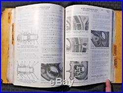 Genuine 1955 Caterpillar D9 D 9 Crawler Tractor Service Repair Manual Good Shape