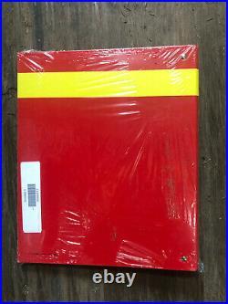 Genuine 1995 Ferrari F50 Service Times Workshop Manual Book Binder Cat # 1035/95