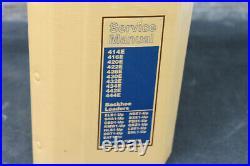 Genuine Caterpillar Service Manual 414E 416E 420E 422E 428 430 432 434 442E 444