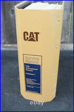 Genuine Caterpillar Service Manual 740 Articulated Truck Volume I AXM1-UP