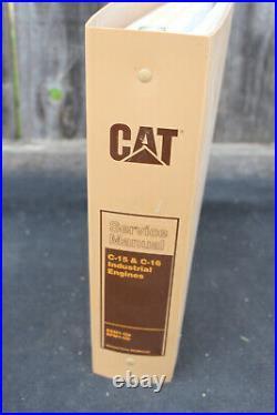 Genuine Caterpillar Service Manual C-15 & C-16 Industrial Engines