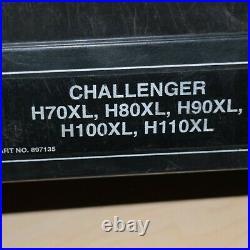 HYSTER H70XL H80XL H90XL H100XL H110XL Forklift Repair Shop Service Manual Book