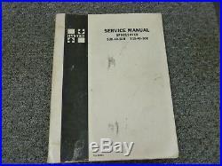 Hyster S30B S40B S50B S30C S40C S50C Spacesaver Forklift Service Repair Manual