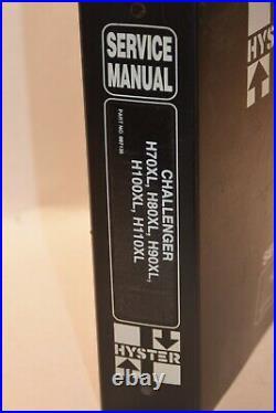 Hyster Service Manual PN 897135 Challenger H70XL H80XL H90XL H100XL H110XL