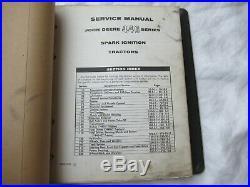 John Deere 440 series tractor repair shop service manual with hard cover binder