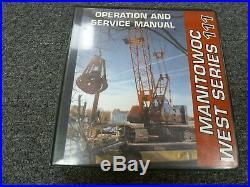 Manitowoc 11 Crawler Crane Owner Operator & Service Repair Maintenance Manual