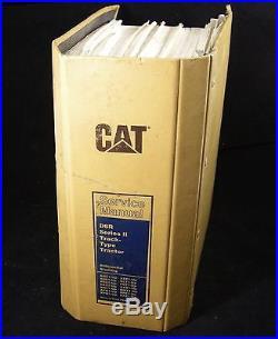 OEM Caterpillar D6R Series II Track Type Tractor Service Repair Manual Book CAT