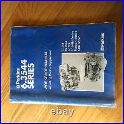 Perkins Cat 6.3544 Workshop Service Diesel Engine Manual 6.3724
