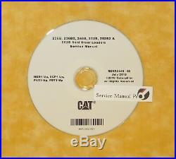 RENR6445 Caterpillar 236B 246B 252B 262B Skid Steer Loader Repair Service Manual