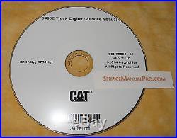 SENR5580 Caterpillar 3406E Truck Engine Factory Repair Service Manual CD 5EK 6TS