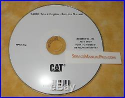 SENR6550 CAT 3406C Truck Engine Factory Service Repair Shop Manual OEM 8PN