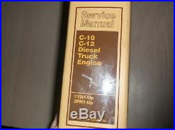 SENR6590 Caterpillar Service Manual For C-10 C-12 SN 1YN1-up 2PN1-up Truck Eng