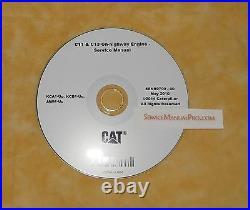 SENR9700 Caterpillar C-11 C13 Truck Engine Factory Service Repair Shop Manual CD