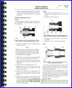 Service Manual Caterpillar D7E D7 Crawler