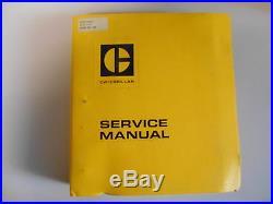 Service manual Werkstatthandbuch Caterpillar Cat 930