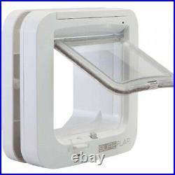 SureFlap SUR001 Microchip Cat Flap White, Premium Service, Fast Dispatch