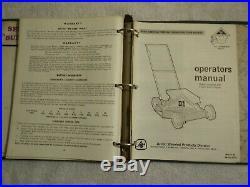 Vintage Arctic Cat Lawn Mower Parts and Service Manuals