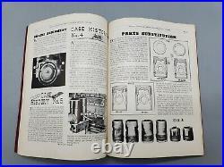 Vintage Original Caterpillar Tractor Co. 1932-1950 Service Manual Magazine