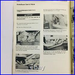Vtg Caterpillar CAT 3406B Diesel Truck Engine Repair Service Manual SEBR0544-02